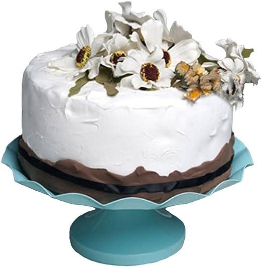 Prime Amazon Com Cake Plate Botitu 8 Inch Pedestal Dessert Stand For Birthday Cards Printable Trancafe Filternl