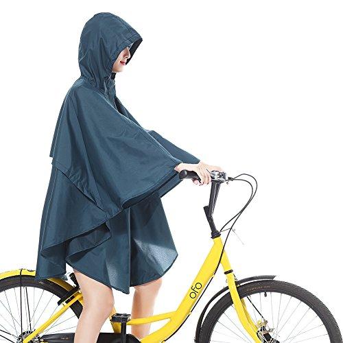 per Moda Alla Poncho Bicicletta 2018 170cm 150 Traspiranti Monouso con Impermeabili Blu Cappucci Moto non H1zxwEq