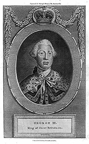 Ermine Robe (Photo: George III, King of Great Britain, wearing ermine robe, powdered wig, crown, 1782 . Size: 8x1)
