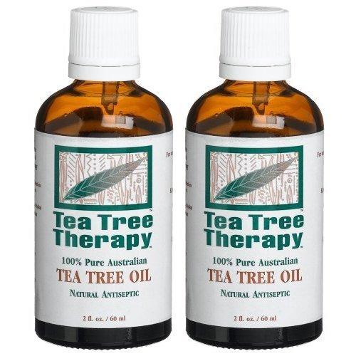 Tea Tree Therapy 100% Pure Australian Tea Tree Oil, 2 Ounce (2-Pack)