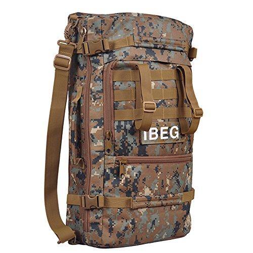 aofit 60L gran capacidad deportes al aire libre mochila multifuncional mochila de viaje mochila Militar ejército combate táctico mochila senderismo mochila, hombre, desert camouflage jungle camouflage
