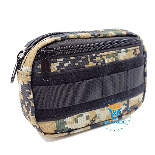 Multifunktions Survival Gear Tactical Beutel MOLLE POUCH Military Field Kleinteile Bag, Outdoor Camping Tragbare Travel Bags Handtaschen Werkzeug Taschen Waist Bag Handy Pouch DC