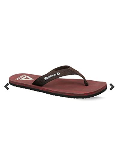 9cd3037827a5 Reebok Men s Tribals M S Lush Earth Stone Red Rush Flip-Flops-8 UK ...