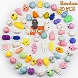 Mochi Squishy Animal Toys, BeYumi 15 Pcs Kawaii Cute Soft...