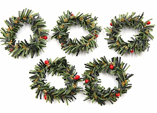 10pcs Mini Artificial Stamen Berry Branches Christmas Wreath Diy Crafts Scrapbooking Flowers Celebration Of Send Flowers, Love