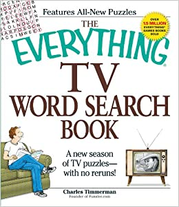 The Everything Tv Word Search Book (Everything Series)