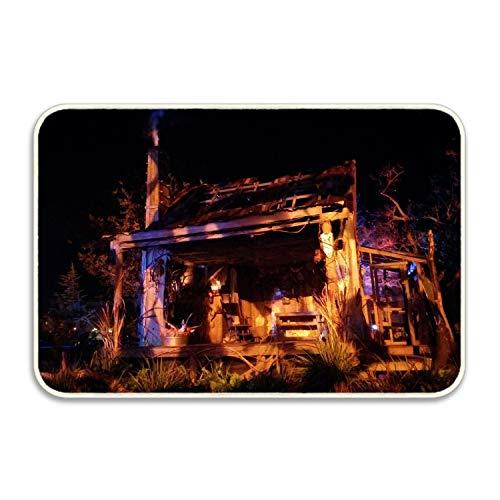 (Inside Spook On Halloween Indoor/Outdoor Rubber Floor)