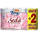 Foxy Seda - Papel higiénico con pH Neutro, 6rollos