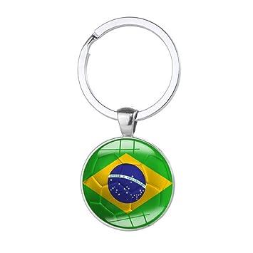 Bigorge Llavero de la Copa del Mundo 32 países de recuerdo ...