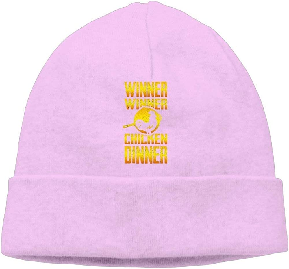 boy Unisex Winner Chicken Dinner Classic Fashion Daily Beanie Hat Skull Cap Go Ahead