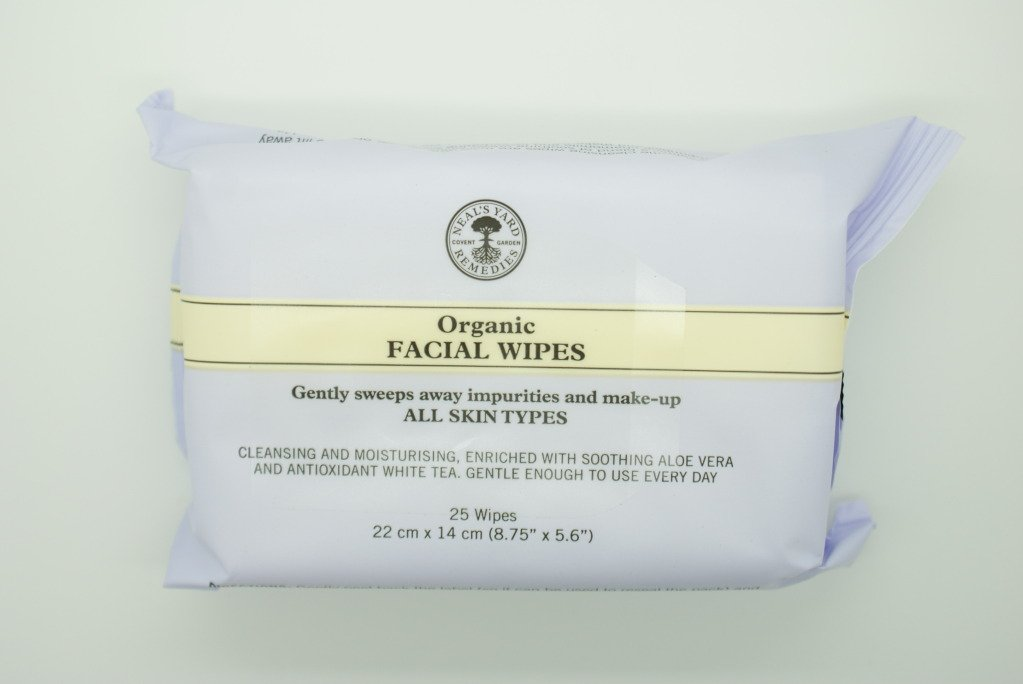 Neal's Yard Remedies NEW Organic Facial Wipes 25 per pack Neal' s Yard Remedies