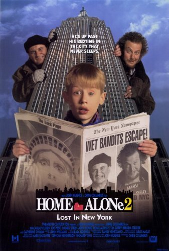 Home Alone 2 Lost in New York POSTER Movie (27 x 40 Inches - 69cm x 102cm) (1992)