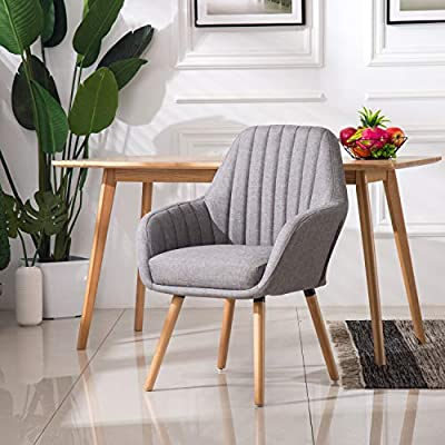 HomyGrigio Living Room Chairs Upholstered Dining Chairs Accent Chair Bedroom