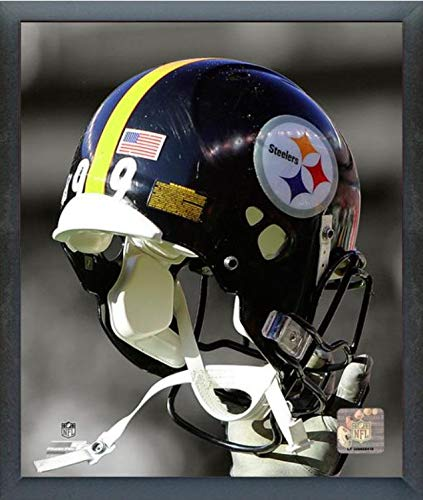 Pittsburgh Steelers Helmet Spotlight Photo (Size: 17
