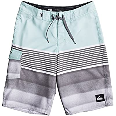 Quiksilver Boys' Division Solid Kids Swim Trunks