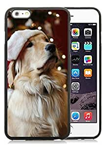 Custom Case Cover For Apple Iphone 4/4S Christmas Dog Black Case Cover For Apple Iphone 4/4S PC Case 19