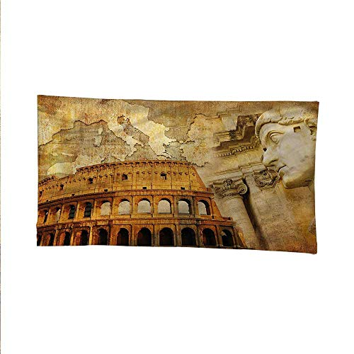 - Retrospace tapestrywall Hanging tapestryRoman Empire Concept 60W x 40L Inch