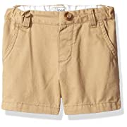 The Children's Place Baby Boys' Chino Shorts, Flax 45119, 9-12 Months
