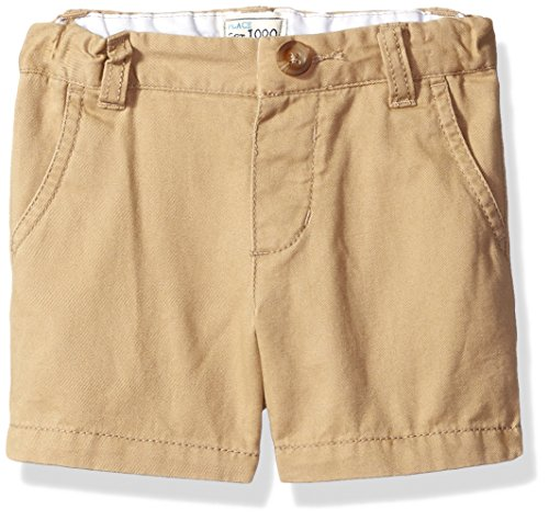 The Children's Place Baby Boys' Chino Shorts, Flax 45119, 9-12 ()