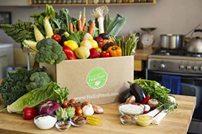 HelloFresh Two-Person Veggie Box