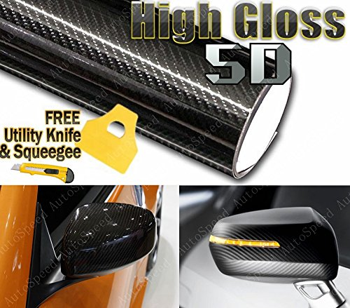 6ft-x-5ft-premium-5d-high-gloss-black-carbon-fiber-vinyl-wrap-bubble-free-air-release-72-x-60
