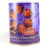 Gefen Doubley Chocolate Macaroon Classic Kosher For Passover 10 Oz. Pack Of 3.