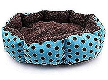 WeiMay, Cama para mascotas, con interior acolchado, almohadas para perros o gatos,