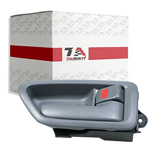 T1A 1997-2001 Toyota Camry Interior Door Handle Replacement, Fits Right Passengers Side, Also Fits Lexus ES300, Grey or Gray Color, T1A 69205-AA010-G0