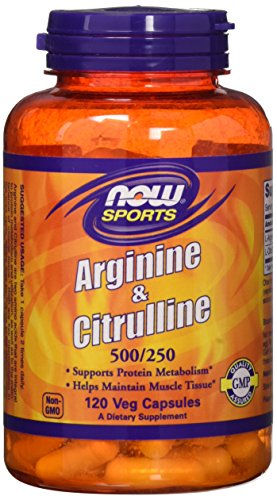 Now Foods Arginine Citrulline Capsules