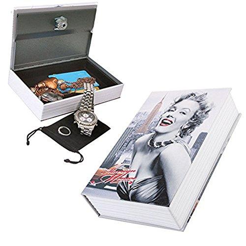 Sis Metal Book Case Money Box Saving Bank 9 5  Marilyn Monroe