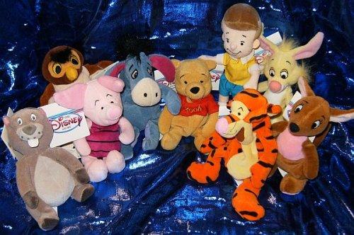 Pooh Plush Beanie (Winnie the Pooh Set of Nine 8