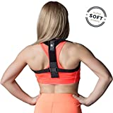 Back Posture Corrector for Women and Men - Super Soft and Comfortable Clavicle Support Brace - Effective and Adjustable Upper Back Posture Brace - Relieves Back & Shoulder Pain - Prevents Slouching
