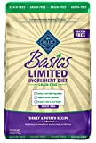 BLUE Basics Limited Ingredient Diet Adult Grain Free Turkey & Potato Dry Dog Food 24-lb