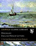 img - for Macaulay. English Men of Letters book / textbook / text book