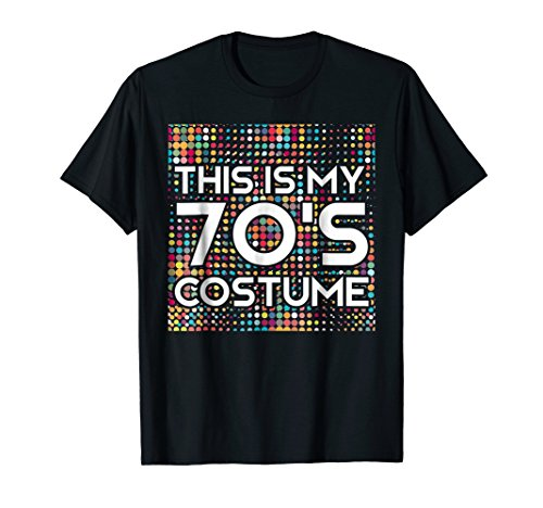 This is my 70s costume Vintage Disco
