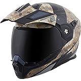 ScorpionExo EXO-At950 Unisex-Adult Flip-Up-Style Battleflage Helmet (Sand,...
