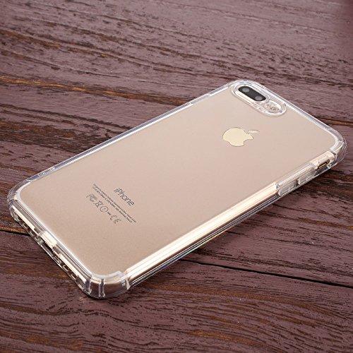 Second Generation Air Cushioning TPU Drop-proof Tasche Hüllen Schutzhülle - Case für iPhone 7 Plus 5.5 inch - Transparent