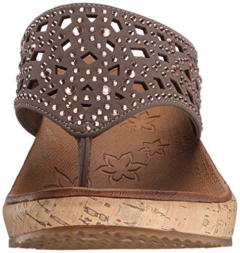 Femme Gris Skechers Dazzled Beverlee Tpe Chaussures wCAfRtq