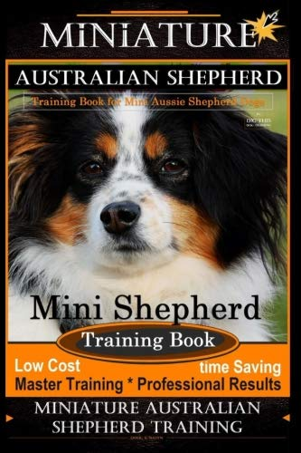 Miniature Australian Shepherd Training Book for Mini Aussie Shepherd Dogs By D!G THIS DOG Training: Mini Shepherd Training Book, Low Cost - Time ... Miniature Australian Shepherd Training ()