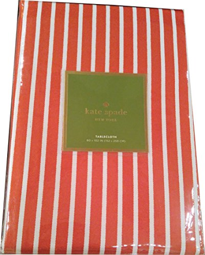 Harbor Drive (Harbor Drive Tablecloth (60 x 102) White with Silver Stripes (Cranberry))