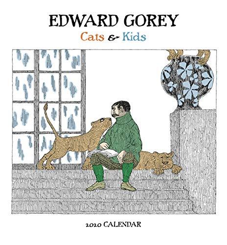 Edward Gorey: Cats & Kids 2020 Mini Wall Calendar (Mini Wall Calendar Kids)