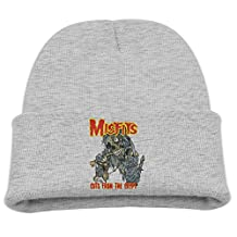 Misfits Cuts From The Crypt Child Hats Outdoor Winter Beanies Hat Small Cap Black