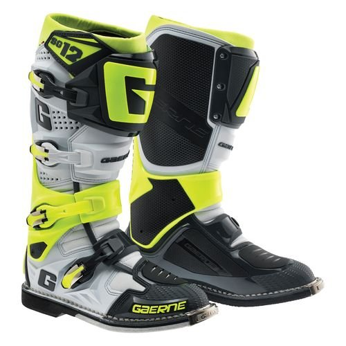 Price comparison product image Gaerne SG-12 Boots (White / Gray / Yellow,  11)