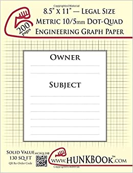 buy engineering graph paper 200pages cream metric 10 5mm dot