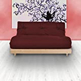 Changing Sofas Complete 3-Seater Futon, Wine