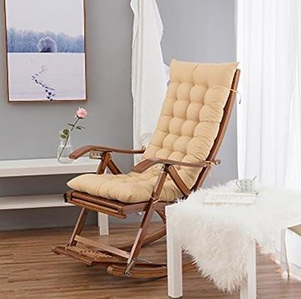 Amazon.com: Thickened winter deck chair cushion, folding ...