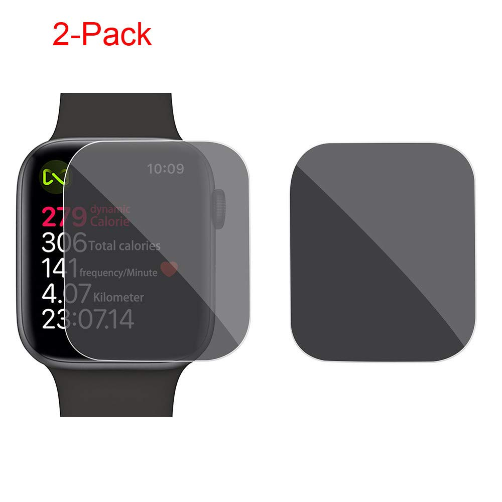 Amazon.com: Accessory for Apple Watch!!!Kacowpper 2pc for Apple Watch Series 4 44mm Privacy Anti-Spy TPU Film Screen Protector 44MM/40MM,Christmas Watch ...