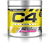 Cellucor C4 Original Pre Workout Powder Energy Drink w/Creatine, Nitric Oxide & Beta Alanine, Watermelon, 30 Servings