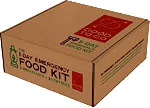 GOOD TO-GO 5-Day Emergency Food Supply | Dehydrated Survival Food | Backpacking and Camping Food | Lightweight | Easy to Prepare