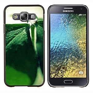 For Samsung Galaxy E5 E500 Case , Planta Naturaleza Forrest Flor 85- Diseño Patrón Teléfono Caso Cubierta Case Bumper Duro Protección Case Cover Funda